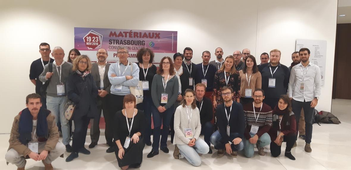 Matériaux 2018 Strasbourg